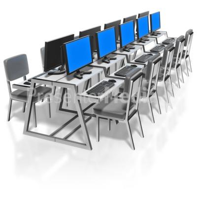 Computer Lab PowerPoint Clip Art