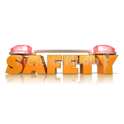 health and safety powerpoint templates - safety siren alert presentation clipart great clipart