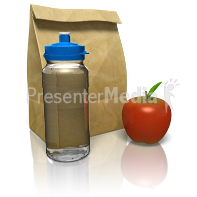 Sack Lunch PowerPoint Clip Art