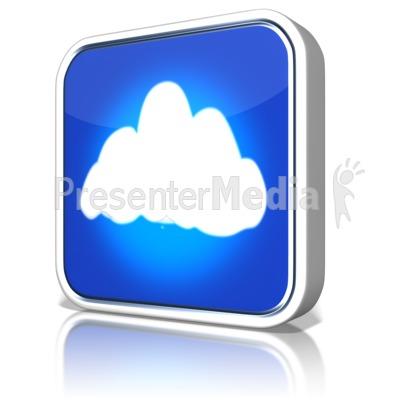Cloud App PowerPoint Clip Art