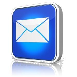 ID# 9125 - E Mail App - Presentation Clipart