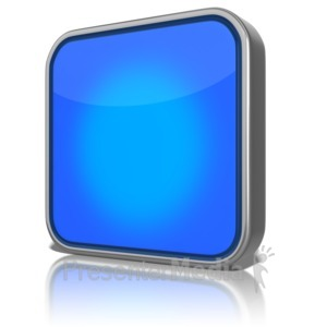 ID# 9129 - Blank App - Presentation Clipart