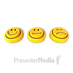 ID# 9148 - How Are You Feeling Button - Presentation Clipart