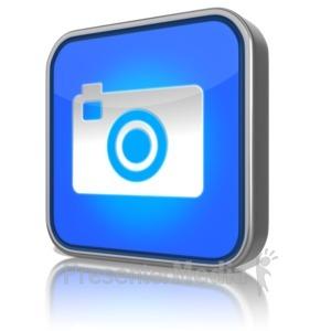 ID# 9156 - Camera App - Presentation Clipart