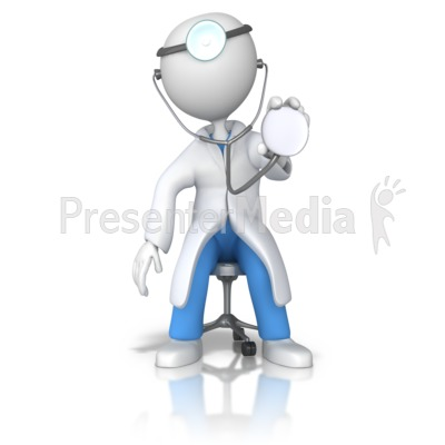 Doctor Or Nurse Stethoscope Examine Medical And Health