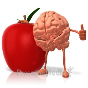 ID# 9279 - Food for Thought - Presentation Clipart