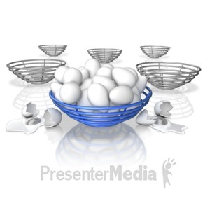 ID# 9314 - All Eggs In One Basket - Presentation Clipart