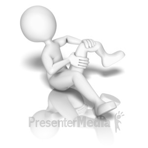 ID# 9358 - Break A Leg - Presentation Clipart