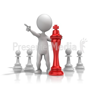 Chess Strategy PowerPoint Clip Art
