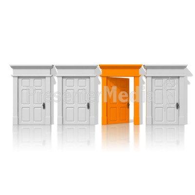 Open Door Clipart open door opportunity - presentation clipart - great clipart for
