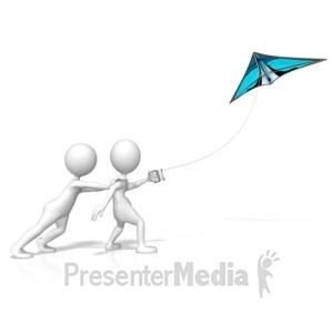 ID# 9389 - Go Fly A Kite - Presentation Clipart
