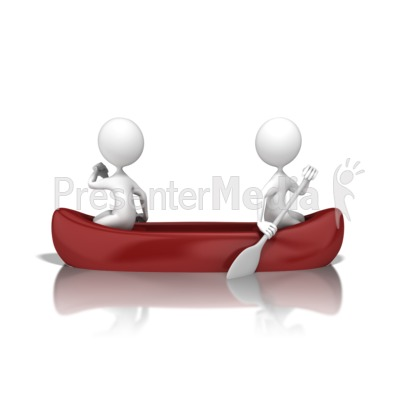 Poor Teamwork Canoe Presentation Clipart Great Clipart For Presentations Www