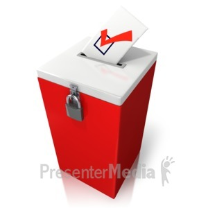 ID# 9473 - Count This Vote - Presentation Clipart