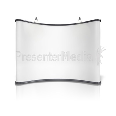 Advertising Booth Design One PowerPoint Clip Art