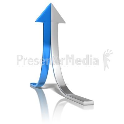 Arrow Halves Join PowerPoint Clip Art