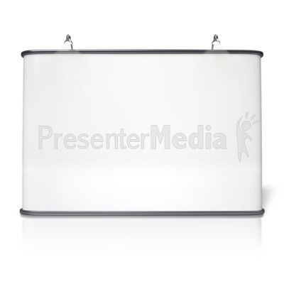 Advertising Booth Design Four PowerPoint Clip Art
