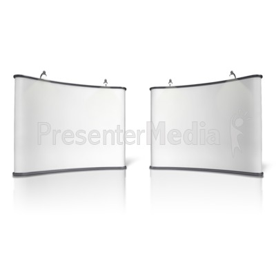 Advertising Booth Design Five PowerPoint Clip Art