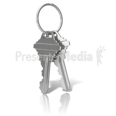 House Keys On Ring Pow...