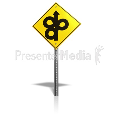 Winding road sign presentation clipart great clipart for winding road sign powerpoint clip art publicscrutiny Images