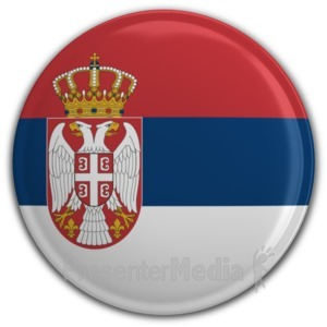 ID# 9759 - Serbia - Presentation Clipart