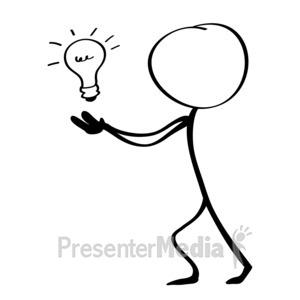 ID# 9769 - Release Idea - Presentation Clipart