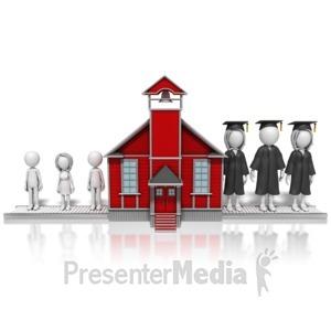 ID# 9797 - School Factory - Presentation Clipart