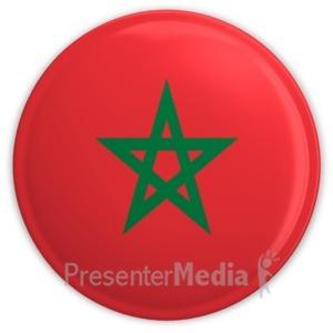ID# 9851 - Morocco - Presentation Clipart