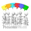 Talking Puzzle Connection Presentation clipart