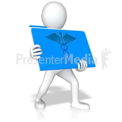 Medical Stick Figure Clip Art
