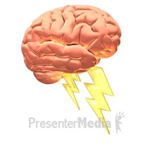 ID# 10046 - Brain Power - Presentation Clipart