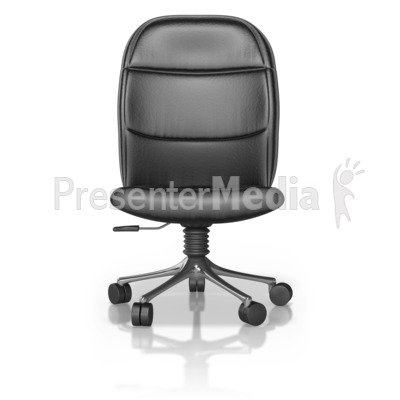 Single Office Chair PowerPoint Clip Art
