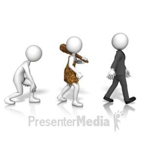 ID# 10134 - Evolution  - Presentation Clipart