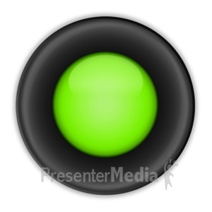 ID# 10146 - Colored Radio Option Button - Presentation Clipart