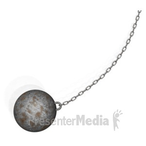 ID# 10224 - Wrecking Ball - Presentation Clipart