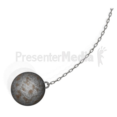 Wrecking Ball PowerPoint Clip Art