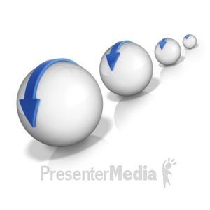 ID# 10327 - Snow Ball Effect - Presentation Clipart