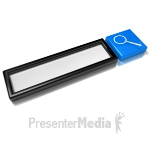 ID# 10748 - Empty Search Box - Presentation Clipart