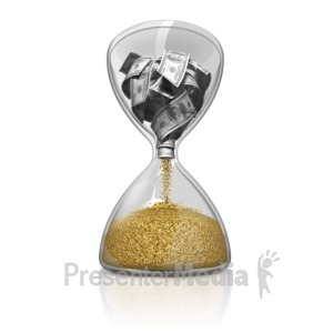 ID# 10875 - Time Is Money - Presentation Clipart