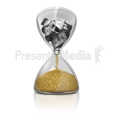 Time Is Money PowerPoint Clip Art