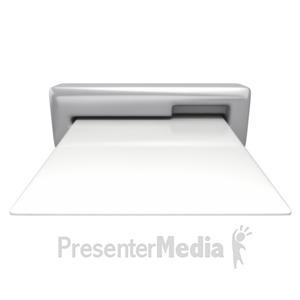 ID# 10950 - Card Insert Slot - Presentation Clipart