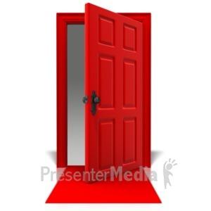 ID# 10953 - Blank Door Mat - Presentation Clipart