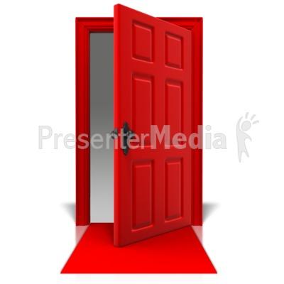 Blank Door Mat PowerPoint Clip Art