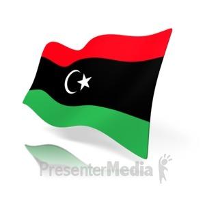 ID# 11063 - Libya Flag - Presentation Clipart
