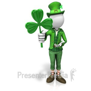 ID# 11239 - Luck Of The Irish - Presentation Clipart