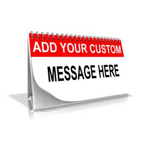ID# 11443 - Custom Calendar - Presentation Clipart