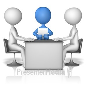 ID# 11522 - Discussion Mediator - Presentation Clipart
