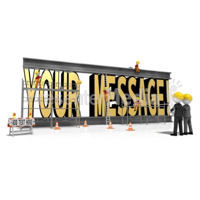Constructing Custom Text PowerPoint Clip Art