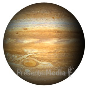 ID# 11592 - The Planet Jupiter - Presentation Clipart