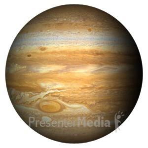 ID# 11592 - The Planet Jupiter - Presentation Clipart