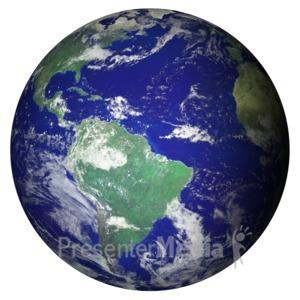 ID# 11599 - Earth - Presentation Clipart